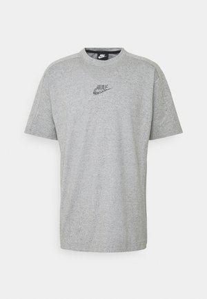 T-shirts med print - grey/heather