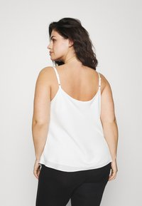 Forever New Curve - MARIAH COWL NECK CAMISOLE - Top - porcelain - 2