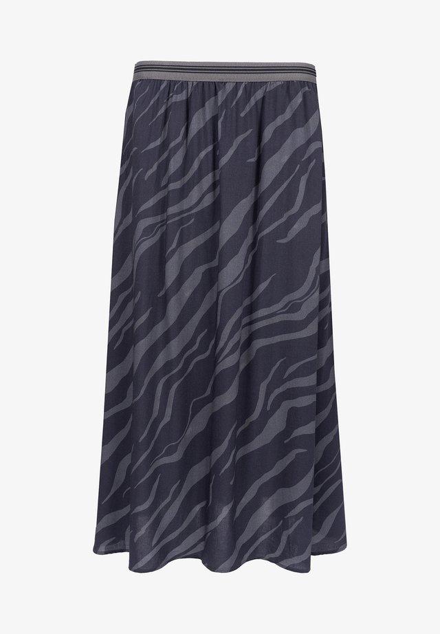 A-line skirt - shale grey