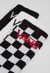 Vans - PACK OF 3 - Socks - black-checkerboard - 1