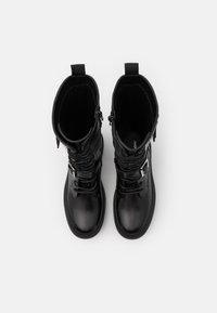 Even&Odd - Platform boots - black - 4