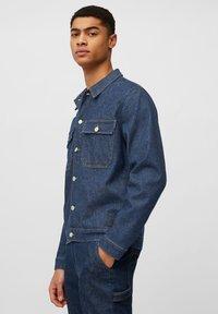 Marc O'Polo DENIM - Denim jacket - multi/neppy blue raw - 3