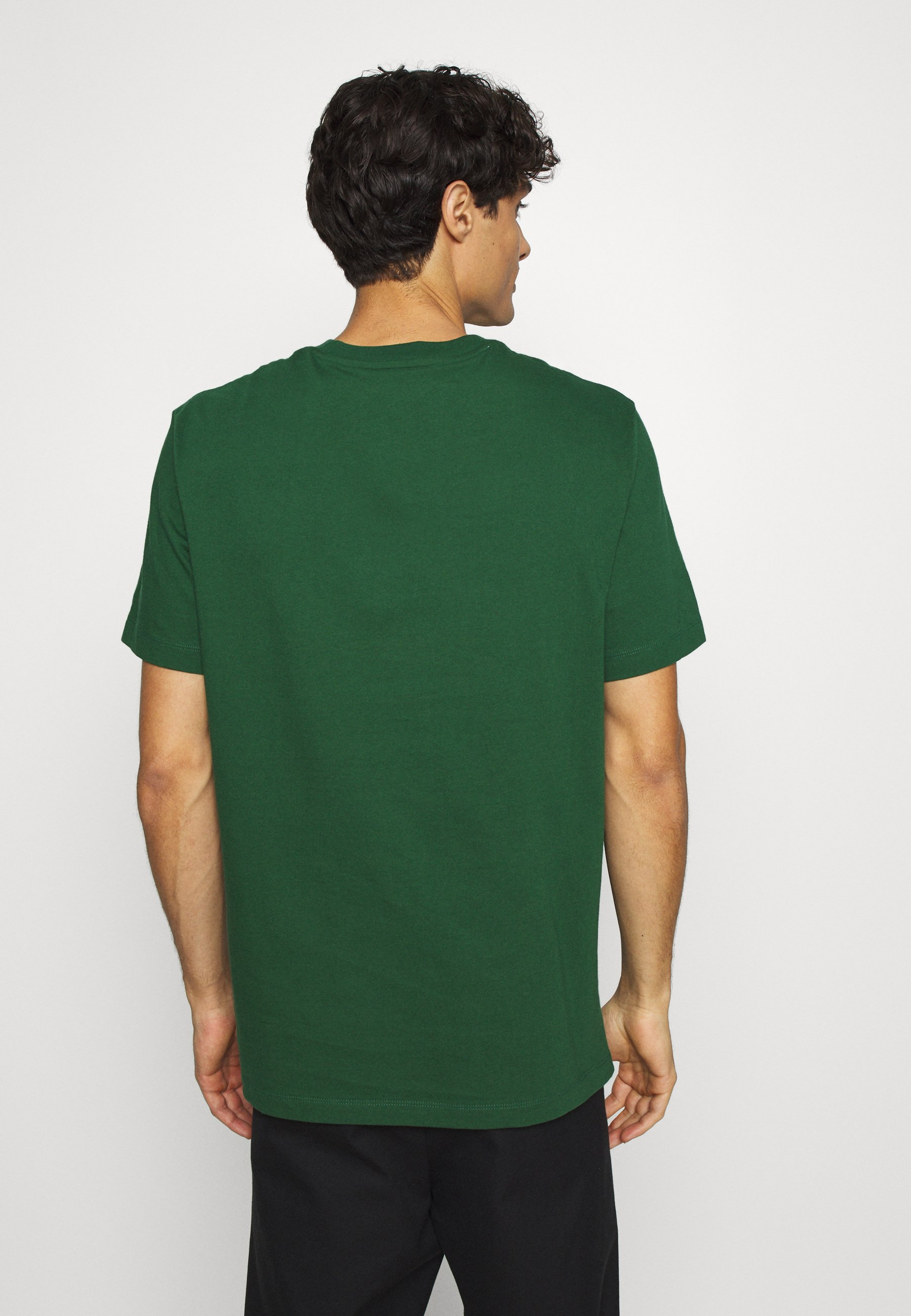 Lacoste Print T-shirt - dark green D9Jne