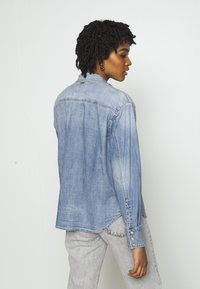 G-Star - WESTERN RELAXED  - Button-down blouse - destroyed denim - 2