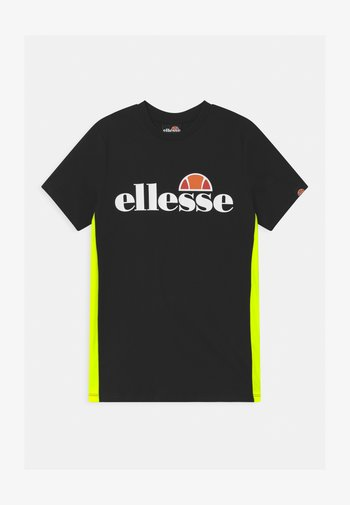 FABIOZ - Camiseta estampada - black