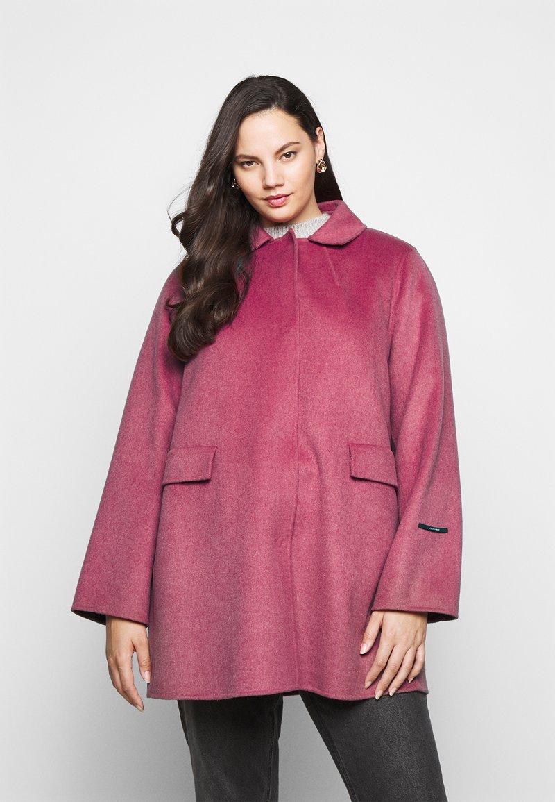 Persona by Marina Rinaldi - NATURA - Classic coat - lilac