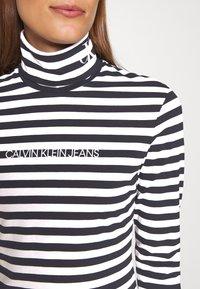 Calvin Klein Jeans - Long sleeved top - black/bright white - 7