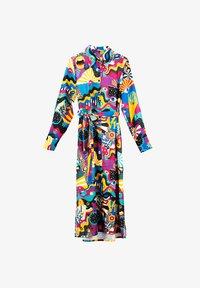 Lolina - PEACE AND LOVE - Vestido camisero - multicolor - 3