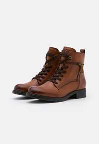 Bugatti - SINJA - Lace-up ankle boots - cognac - 2