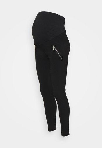 MATERNITY SKINNY BENG TROUSER - Trousers - black