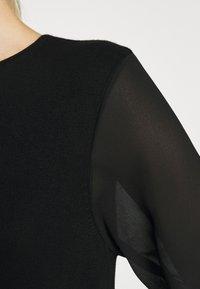 ONLY - ONLOFELIA DRESS - Neulemekko - black - 5