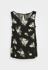 Vero Moda - VMSIMPLY EASY TANK - Blouse - black - 4