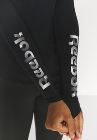 Reebok - LONG SLEEVE TEE - Topper langermet - black - 5