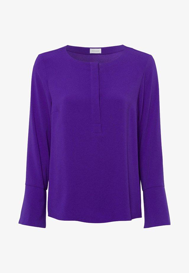 Blouse - deep purple