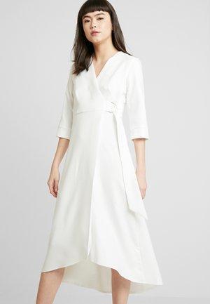 CLOSET WRAP A-LINE DRESS - Day dress - white