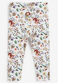 Next - 5 PACK - Leggings - Trousers - off-white - 1