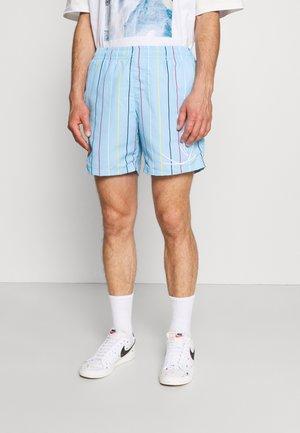 SIGNATURE PINSTRIPE - Shorts - light blue