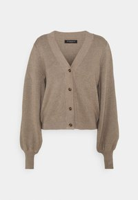 Bruuns Bazaar - ANEMONE MIRE CARDIGAN - Cardigan - roasted grey - 6