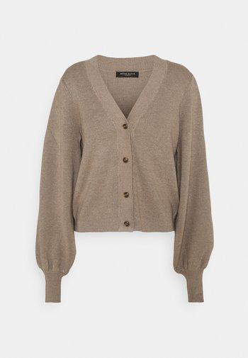 ANEMONE MIRE CARDIGAN - Cardigan - roasted grey