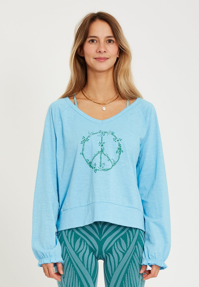 Yogasearcher - LONG SLEEVED  - Longsleeve - light blue