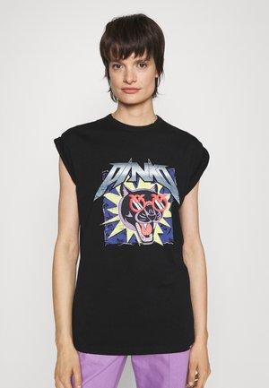 TROLL DI COTONE - T-shirt print - black