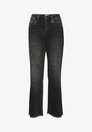 PZLIVA  - Flared Jeans - black denim
