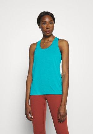 YOGA LAYER TANK - Sports shirt - aquamarine/bright spruce