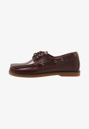 SEABURY CLASSIC EYE BOAT - Boat shoes - dark brown