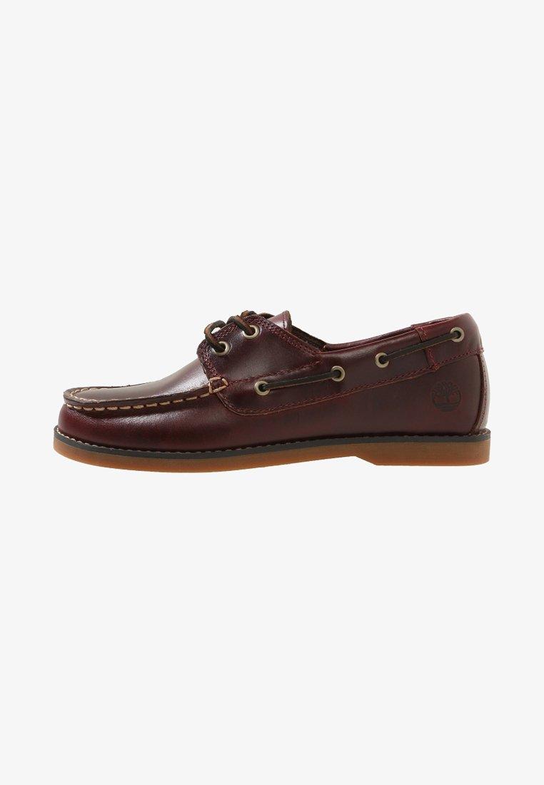 Timberland - SEABURY CLASSIC EYE BOAT - Boat shoes - dark brown