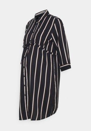 OLMTAMARI DRESS - Shirt dress - black