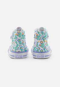 Converse - CHUCK TAYLOR ALL STAR - High-top trainers - white/twilight pulse/citron pulse - 2
