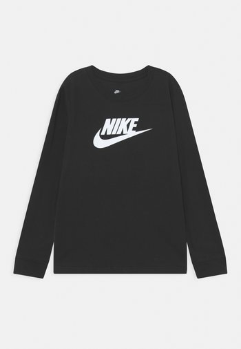 TEE BASIC FUTURA - Maglietta a manica lunga - black/white
