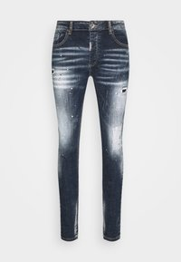 Alessandro Zavetti - CHEILLINI SUPER SLIM - Slim fit jeans - indigo - 4