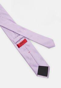 HUGO - TIE - Tie - light pastel purple - 3