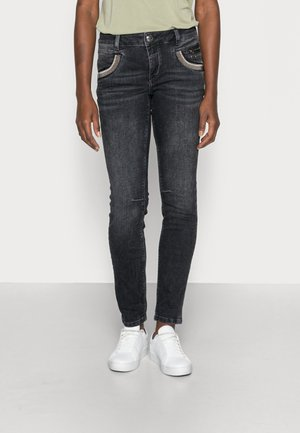 SHADE WASHED - Jeans slim fit - grey