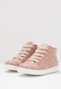 Friboo - Sneakersy wysokie - old pink - 2