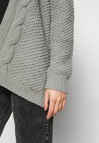 Hollister Co. - MATTE CHENIILE  - Cardigan - dark grey - 4