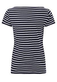 Boden - Print T-shirt - navy/naturweiß - 1
