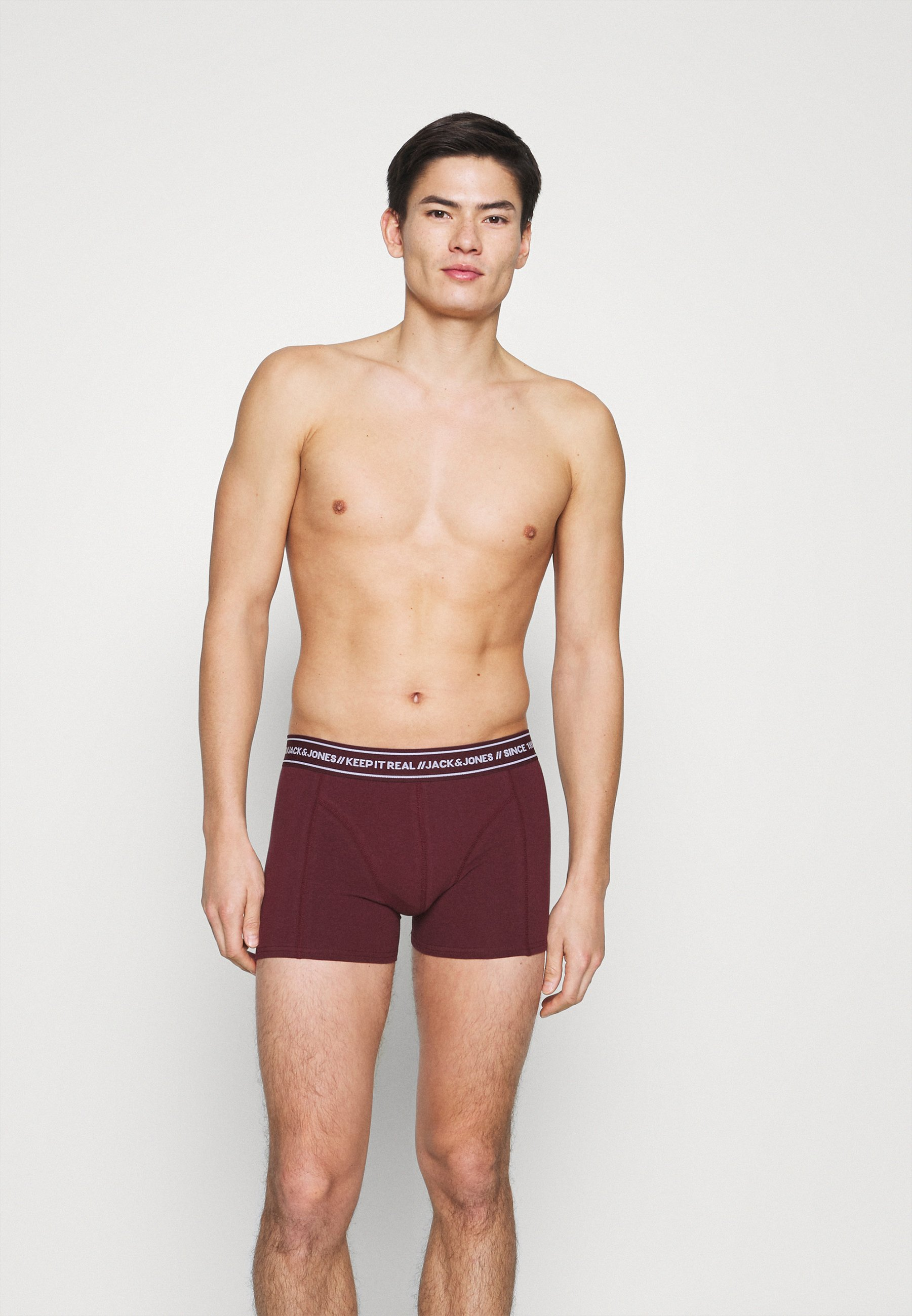 Uomo JACTEXT TRUNKS 3 PACK - Culotte