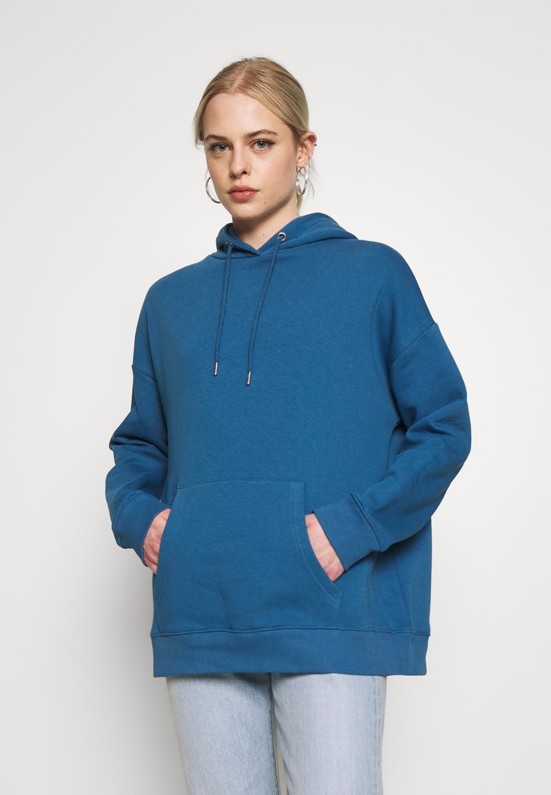 Nly by Nelly - OVERSIZED HOODIE - Sweat à capuche - blue