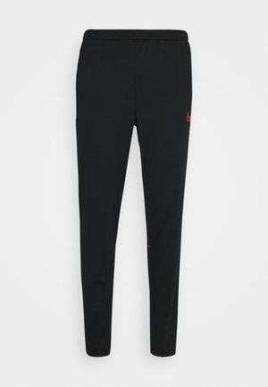PANT - Pantalon de survêtement - black/siren red