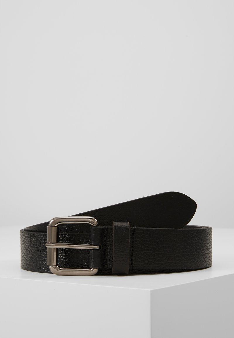 Pier One - LEATHER - Pásek - black