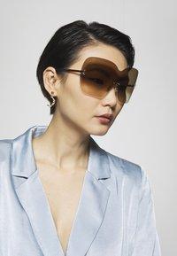 Jimmy Choo - ZELMA - Sluneční brýle - gold-coloured - 1