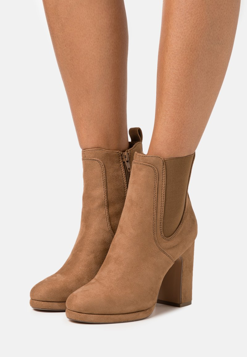 Anna Field - High heeled ankle boots - camel
