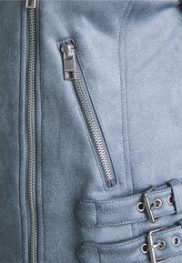 Marks & Spencer London - Faux leather jacket - blue - 2