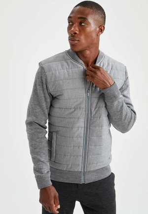 SLIM FIT  - Light jacket - grey