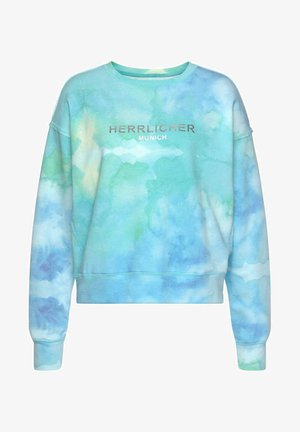 Sweatshirt - blue green
