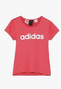 adidas Performance - TEE - Camiseta estampada - coral pink - 0