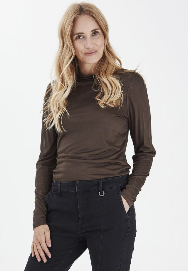 PZCARLA  - Long sleeved top - chocolate brown