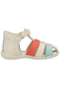 Kickers - Chaussures premiers pas - white/pink/blue - 6
